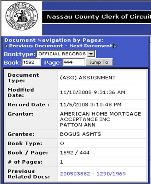 ENOUGH IS ENOUGH! Docx Assignment of Mortgage \u2013 Bogus Assignee for