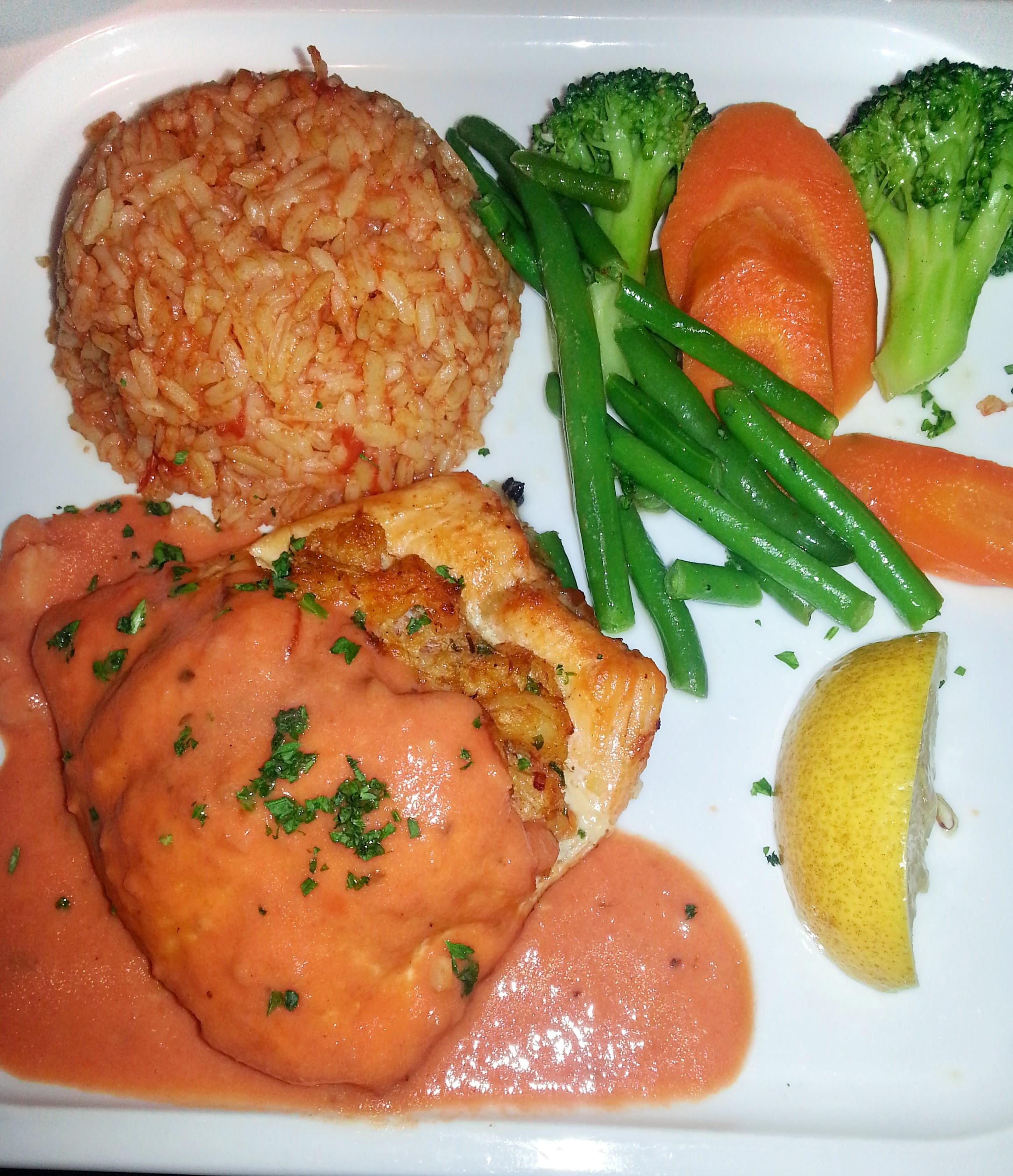 Stuffed Salmon: Louisiana Seafood & Steakhouse Review