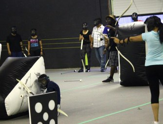 Archery Tag hits Brampton at Battle Archery