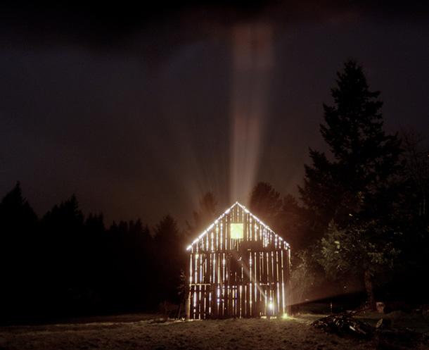Ann Durant, Illuminated Barn © 2010 Anne Durant