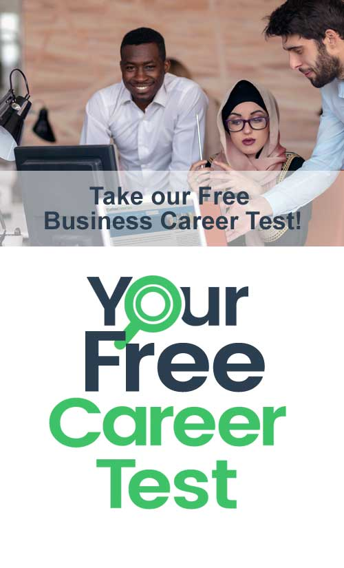 Business Career Test Free Tests for Students  College Business Majors