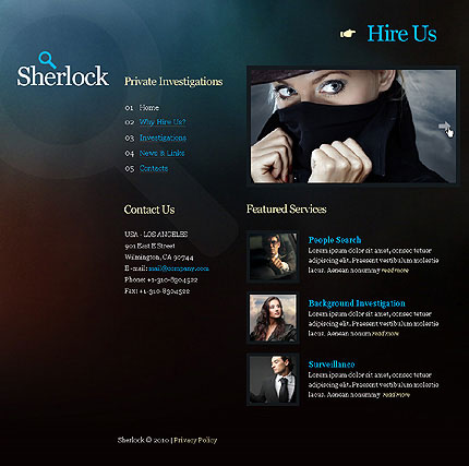 4-Designer Personalized corporate css xhtml web templates