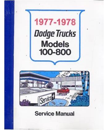 78 Dodge Truck Wiring Wiring Diagram