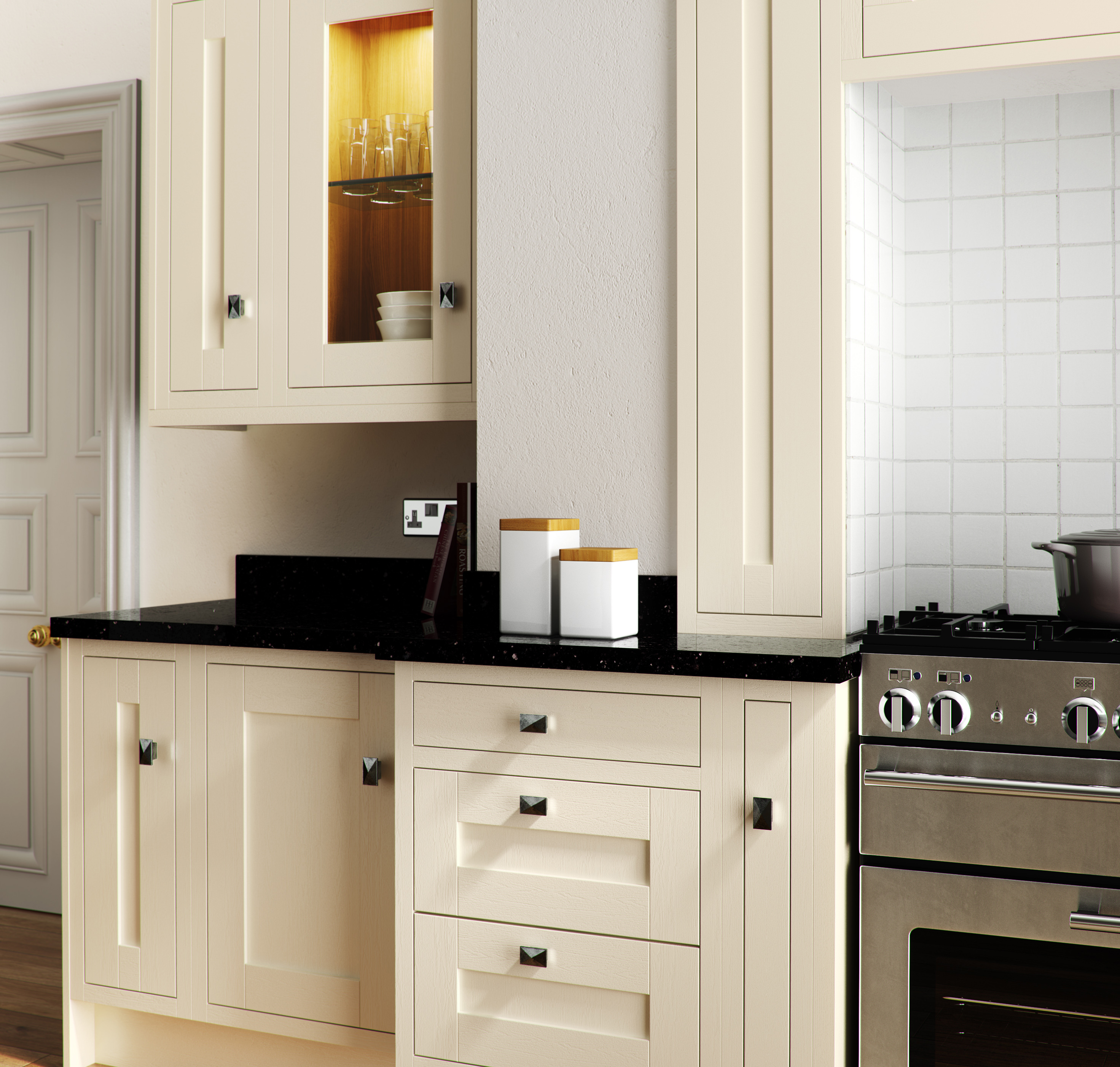 Free Kitchen Design Edinburgh Sheraton Painted In Frame 4homes