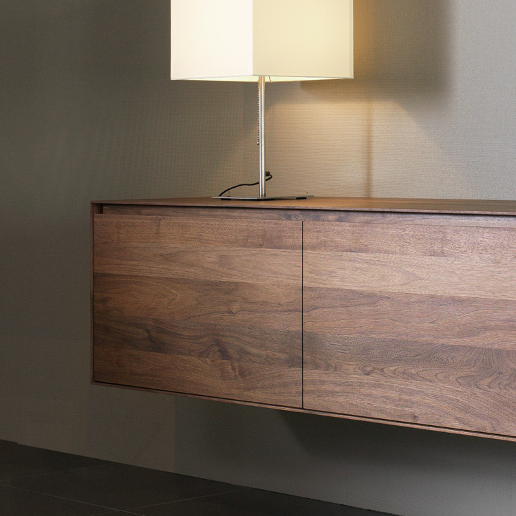 Nussbaum Sideboard Kluskens Solid Walnut Sideboard Bellagio | Walnut Bedroom