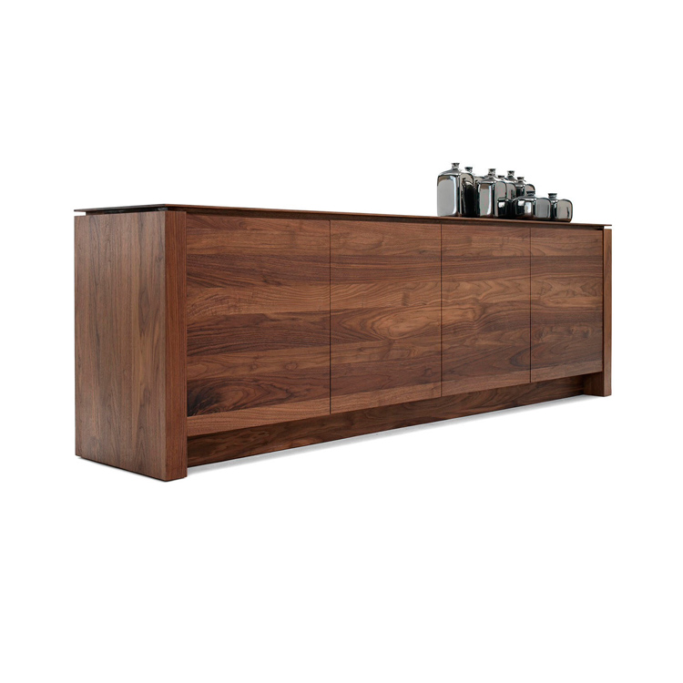 Nussbaum Sideboard Kluskens Solid Walnut Sideboard Air | Modern Walnut Sideboard