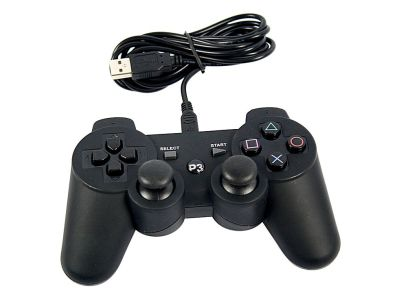Wired USB Controller for Sony PlayStation and PC 3 PS3 V5226, Buy at lowest prices.