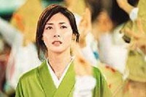 NHKの朝ドラマに出演していた女優さん① 松嶋菜々子さん