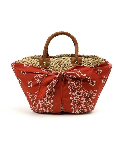 ピクニックにも連れてって♪かごバッグは春から投入!その8