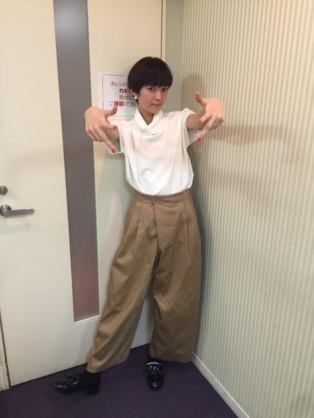 人気急上昇モデル!佐藤栞里ちゃんのファッションに注目♪その6