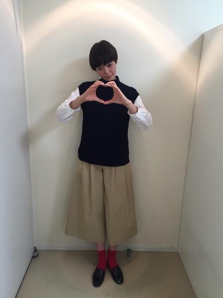 人気急上昇モデル!佐藤栞里ちゃんのファッションに注目♪その7