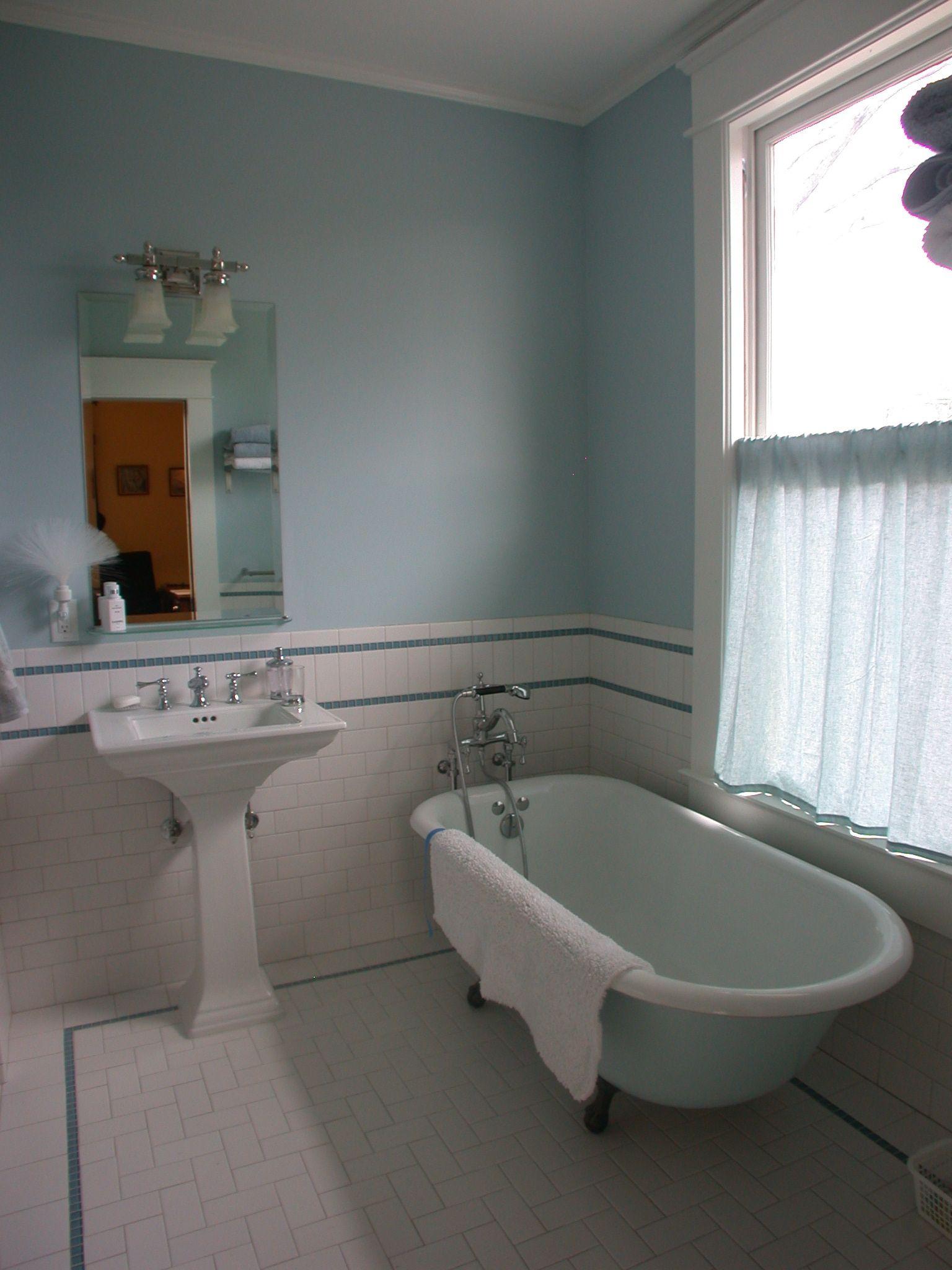 Subway tile wainscoting bathroom download shiifo
