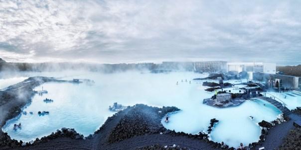 геотермальный комплекс Голубая лагуна