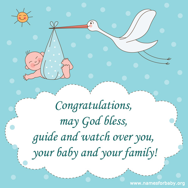 Prayers for new baby boy - new baby congratulations
