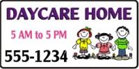 Daycare Banner Design Templates
