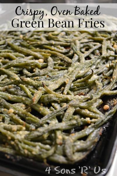 Crispy Oven Baked Green Bean Fries