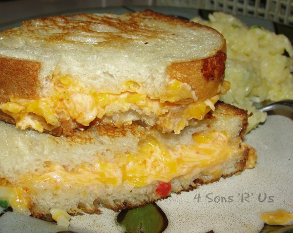 Hot Pimento Cheese Dip - 4 Sons 'R' Us