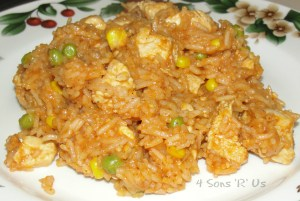 4 Sons 'R' Us: Mexican Chicken & Rice 2