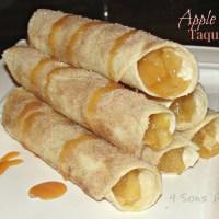 Sous Chef Sunday: Apple Pie Taquitos
