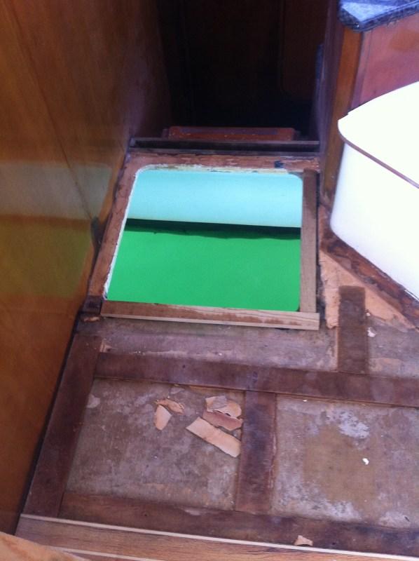 Replacing the escape hatch.