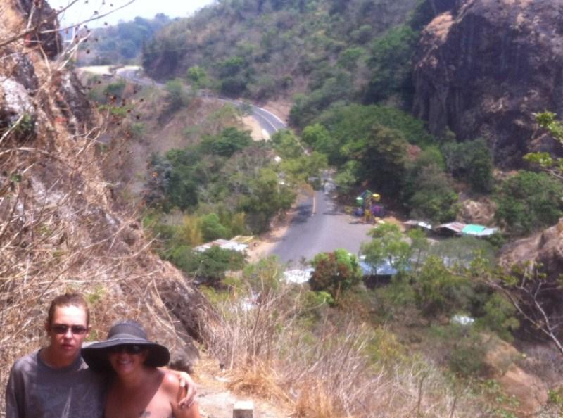 The road to Puerto del Diablo
