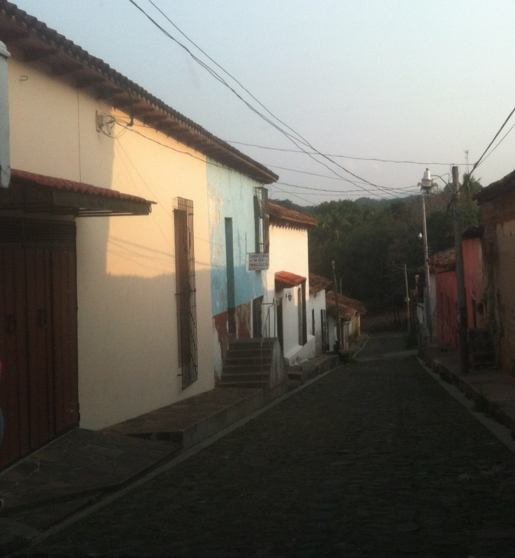 One of the side streets in Sochitotto