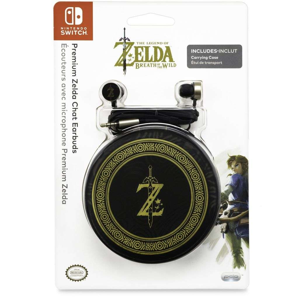 Zelda Bettwäsche In Ear Kopfhörer The Legend Of Zelda Breath Of The Wild Switch