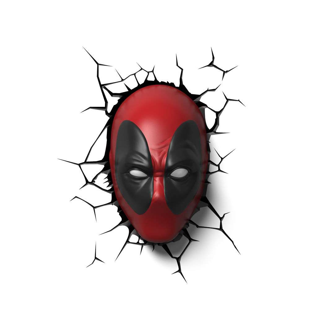 Deadpool Bettwäsche 3d Licht Marvel Deadpool Maske