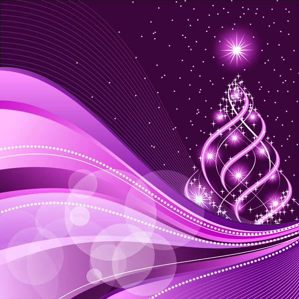 Falling Leaves Wallpaper Free Download Beautiful Christmas Background Vector Free Vector 4vector