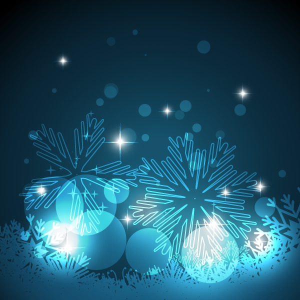 Free Download Of Christmas Wallpaper With Snow Falling Fantastic Christmas Snowflake Background Vector Free