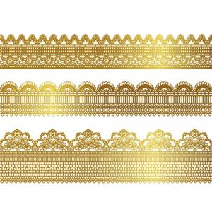 Special Free Vector G Lace Pattern 01 Vector 023269 G Lace Pattern 01 Vector 0 G Lace Border Png Lace Border Png