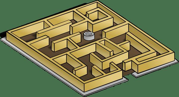 Maze Clip Art Free Vector 4vector