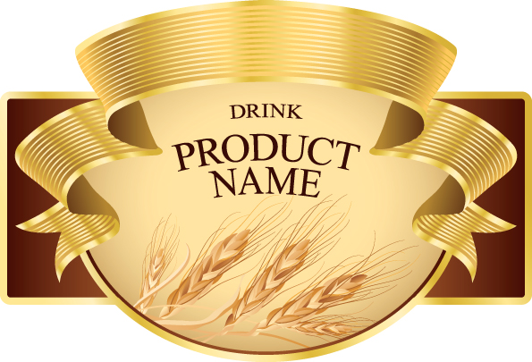 Product label design 02 vector Free EPS Download / 4Vector