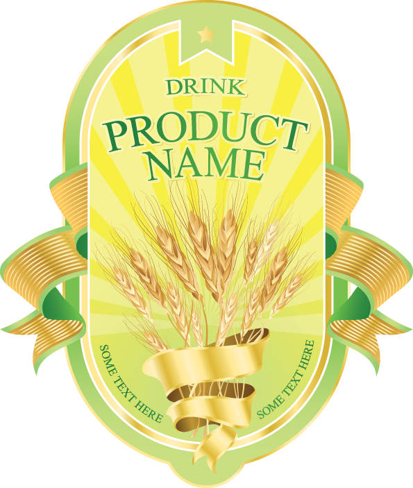 Product label design 04 vector Free EPS Download / 4Vector