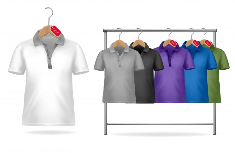Black t shirt vector free -  Tshirt Template 01 Vector Free Vector Download