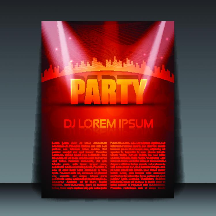 Poster design free -  Poster Design 01 Vector Free Vector Download