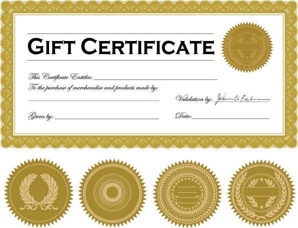 Vector Certificate Template Free Vector / 4Vector