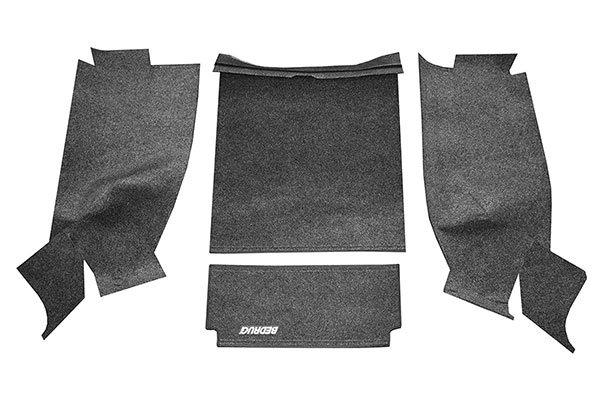 Bedrug Rear Floor Liner Kit 4 Pieces 87 95 Wrangler Yj