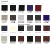 Mercedes 463 standard color codes - code list