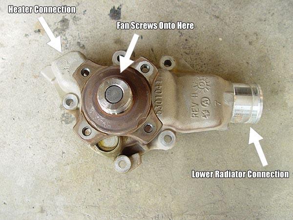 Replacing Your Jeep Waterpump