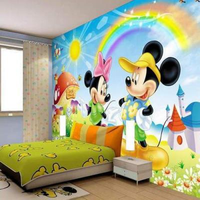 PVC Kids Room Wallpaper, Rs 35 /square feet, Shree Mann ...