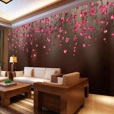 Living Room Designer Wallpaper at Rs 100 /square feet | Living Room Wallpapers | ID: 15947900148