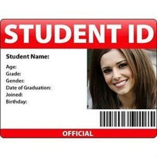 Student Id Card - student identification card