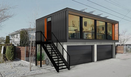 Container Haus Preise Frp Prefabricated Bungalow Done Container House, Rs 1235