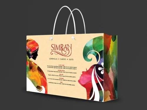 Designer Paper Bags - Multicolour Paper Bag Manufacturer from Delhi