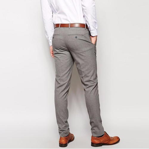Grey Colour Formal Pant 28 36 Cotton Mens Grey Formal Pant Rs 350 Piece S S