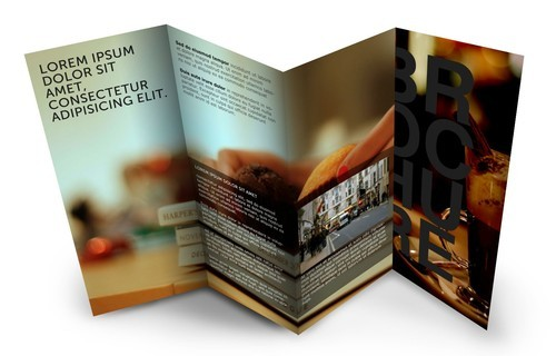 Brochure Designs - 4 Fold Brochures Service Provider from Pune