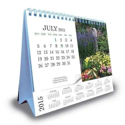 Table Calendar Printing Services in Naraina, New Delhi, Excel