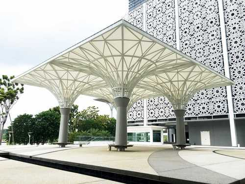 Pergola Tent Tension Structures - Plain Tension Fabric Structures