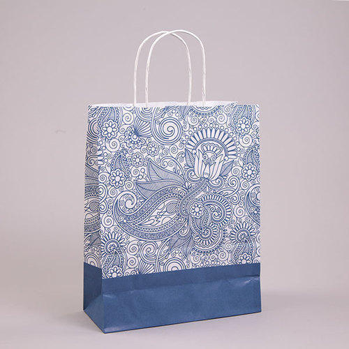 Paisley Paper Bag at Rs 8 /piece Printed Paper Bags - Shrishty